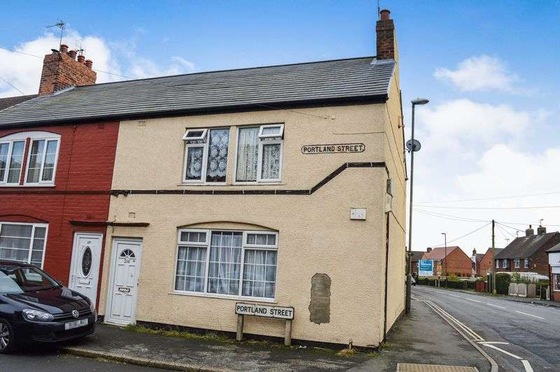 3 Bedrooms Terraced House for sale in Portland Street, Mansfield