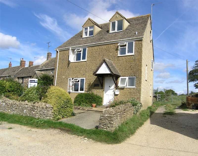 3 Bedrooms Detached House for sale in The Green, Leafield, Witney, Oxfordshire, OX29