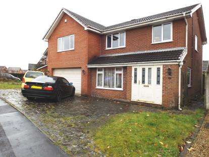 5 Bedrooms Detached House for sale in Upper Lees Drive, Westhoughton, Bolton, Greater Manchester, BL5