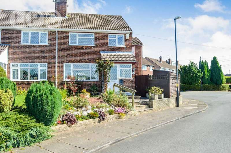 4 Bedrooms Semi Detached House for sale in Amersham Close, Allesley Park, Coventry, CV5