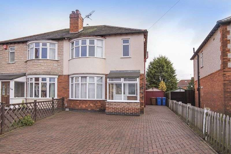 3 Bedrooms Semi Detached House for sale in Beech Avenue, Derby