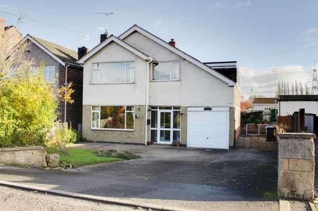 5 Bedrooms Detached House for sale in Bent Lane, Chesterfield, Derbyshire, S43 3UG