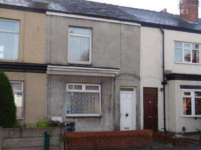 2 Bedrooms Terraced House for sale in Fearnhead Lane, Fearnhead, Warrington, Cheshire