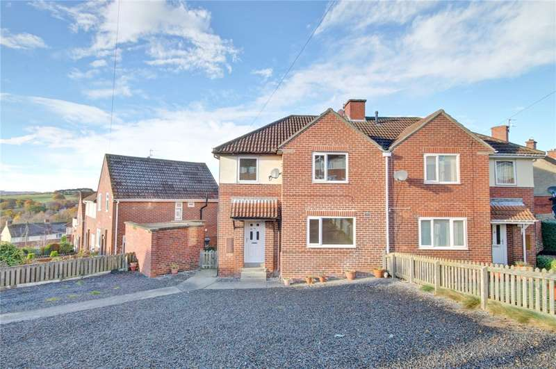 3 Bedrooms Semi Detached House for sale in Burnhopeside Avenue, Lanchester, Durham, DH7