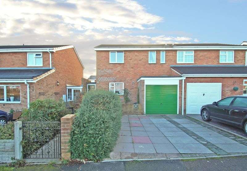 3 Bedrooms Semi Detached House for sale in Woburn Close, Deansway. Bromsgrove