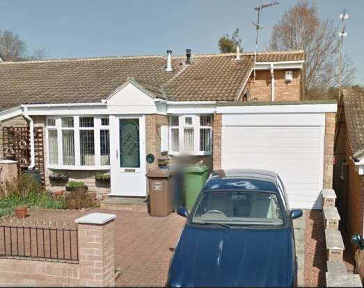 3 Bedrooms Semi Detached Bungalow for sale in Avebury Drive, Washington, Tyne And Wear, NE38 7BY