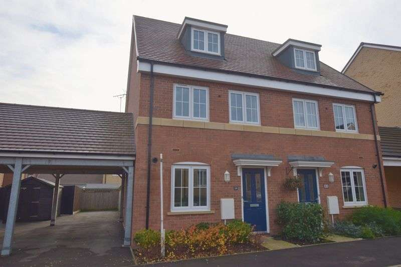 3 Bedrooms Semi Detached House for sale in Sumatra Crescent, Bletchley, Milton Keynes