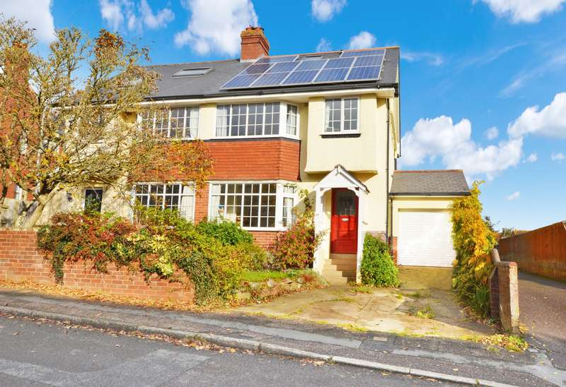 4 Bedrooms Semi Detached House for sale in Pinhoe, Exeter