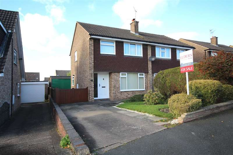 3 Bedrooms Semi Detached House for sale in Windley Drive, Shipley View, Ilkeston