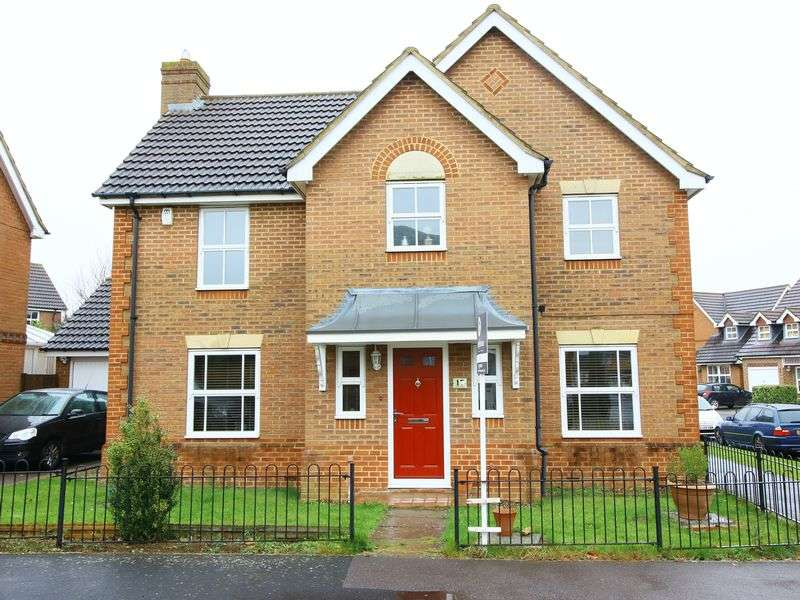 4 Bedrooms Detached House for sale in Chaffinch Way, Brackley