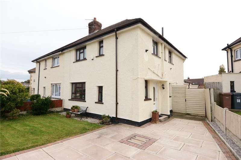 3 Bedrooms Semi Detached House for sale in Fulton Avenue, Newton, Wirral