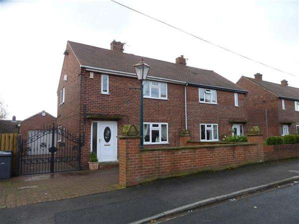 2 Bedrooms Semi Detached House for sale in Windhill Crescent, Barnsley