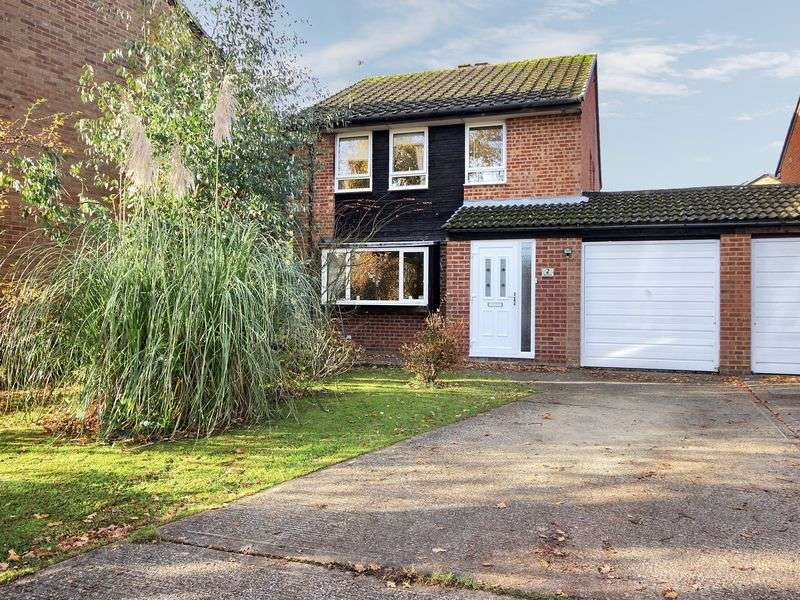 4 Bedrooms Detached House for sale in The Garrones, Pound Hill, Crawley, West Sussex
