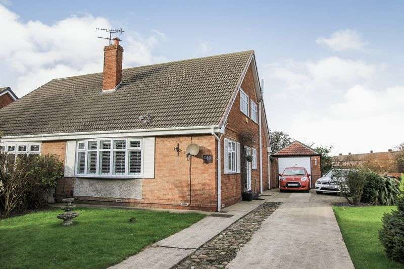 3 Bedrooms Semi Detached House for sale in Keswick Road, Redcar