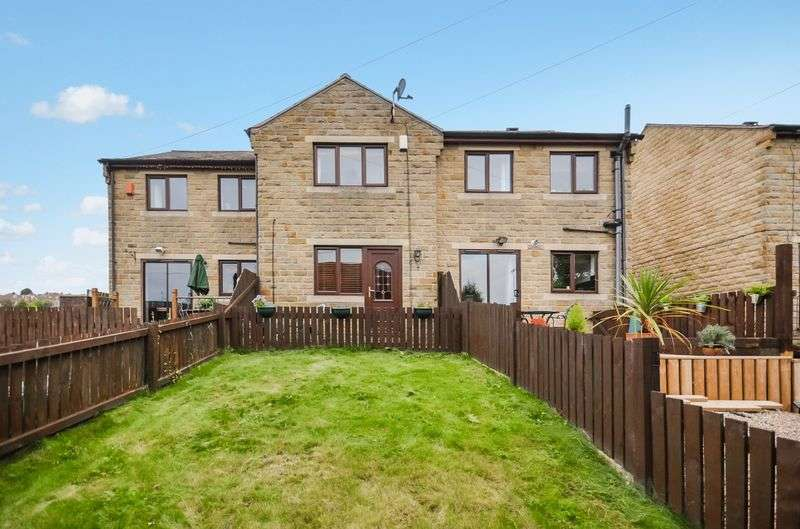 2 Bedrooms House for sale in 3 Outfield Close, Heckmondwike, WF16 9JF