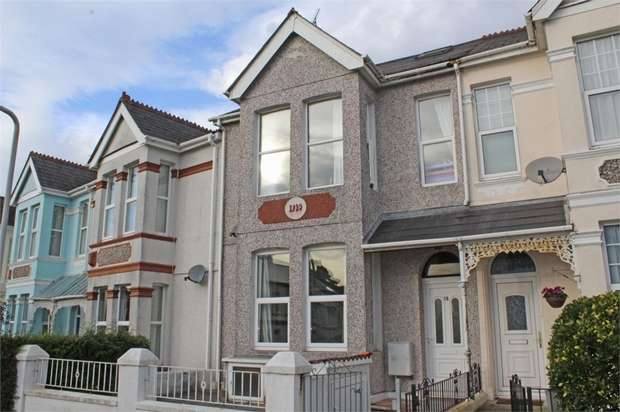3 Bedrooms Flat for sale in Elphinstone Road, Plymouth, Devon