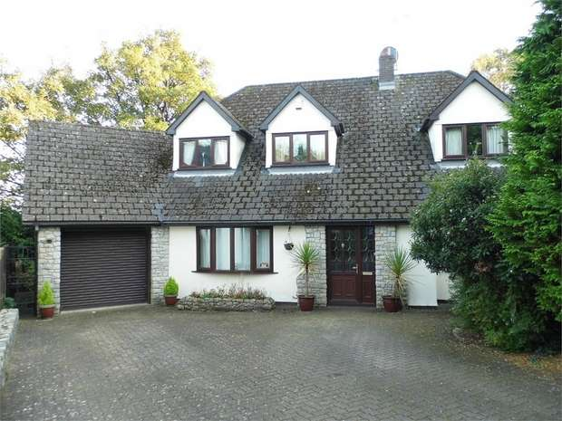 5 Bedrooms Detached House for sale in Coed Parc Court, Bridgend, Bridgend, Mid Glamorgan