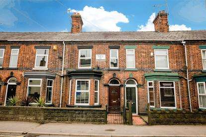 2 Bedrooms Terraced House for sale in Crewe Road, Wheelock, Cheshire
