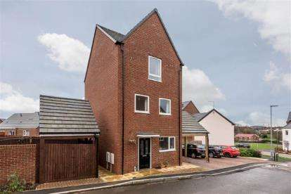 3 Bedrooms Detached House for sale in Matilda Grove, Newcastle, Staffordshire