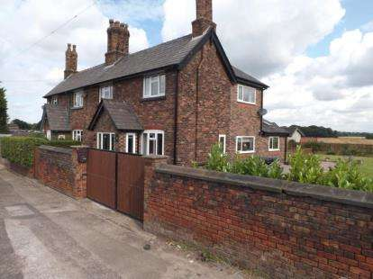 3 Bedrooms Semi Detached House for sale in Park View Cottage, Warrington Road, Bold Heath, Widnes