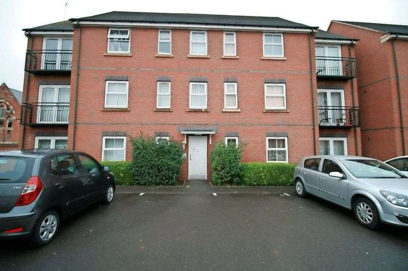 2 Bedrooms Flat for sale in Trinity Street, Loughborough