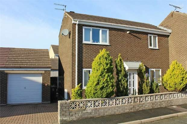 2 Bedrooms Semi Detached House for sale in Sandringham Avenue, Whitehaven, Cumbria
