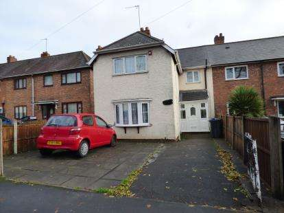 3 Bedrooms End Of Terrace House for sale in Montague Road, Erdington, Birmingham, West Midlands
