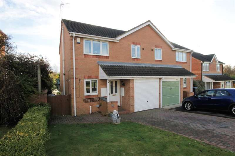 3 Bedrooms Semi Detached House for sale in Sheridan Drive, Stanley, Durham, DH9