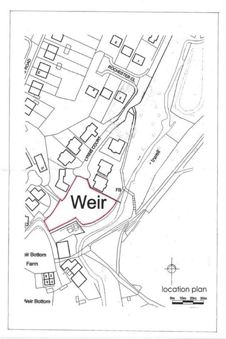 Land Commercial for sale in Land Adjacent To 7 Lynns Court, Weir, Bacup, Lancashire, OL13