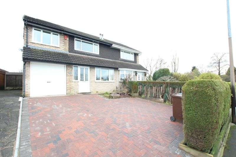4 Bedrooms Semi Detached House for sale in Knype Way, Biddulph