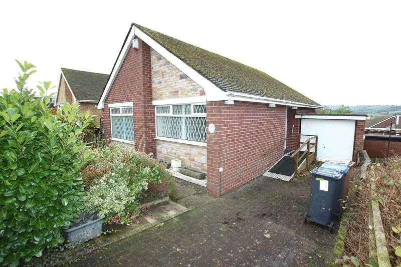 2 Bedrooms Detached Bungalow for sale in Pennine Way, Biddulph