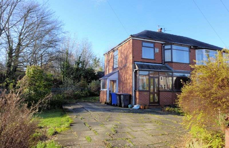 3 Bedrooms Semi Detached House for sale in Hilton Lane, Worsley