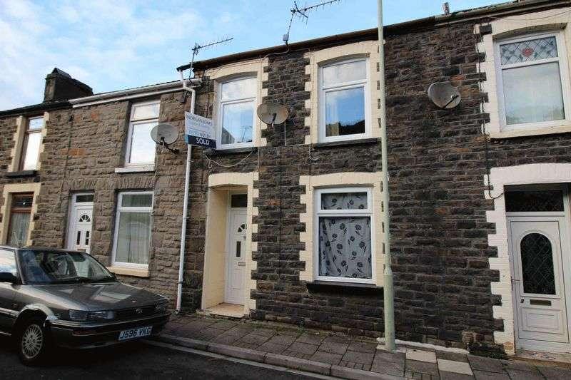 3 Bedrooms Terraced House for sale in Morgannwg Street, Trehafod, Pontypridd CF37 2LT
