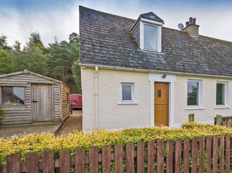 3 Bedrooms Semi Detached House for sale in Church terrace, Rafford, Morayshire, IV36