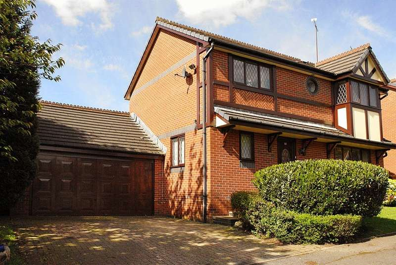 4 Bedrooms Detached House for sale in 12 Carrington Close, Smallbridge, Rochdale