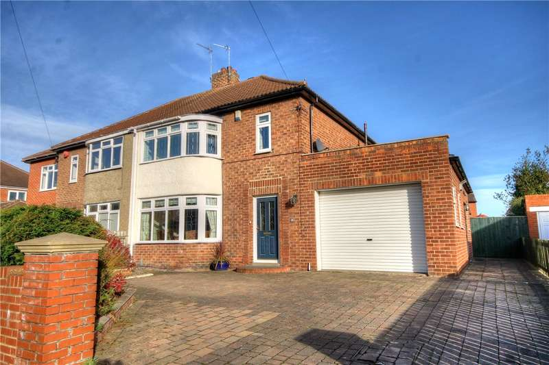 3 Bedrooms Semi Detached House for sale in Camperdown Avenue, Chester Le Street, Co Durham, DH3