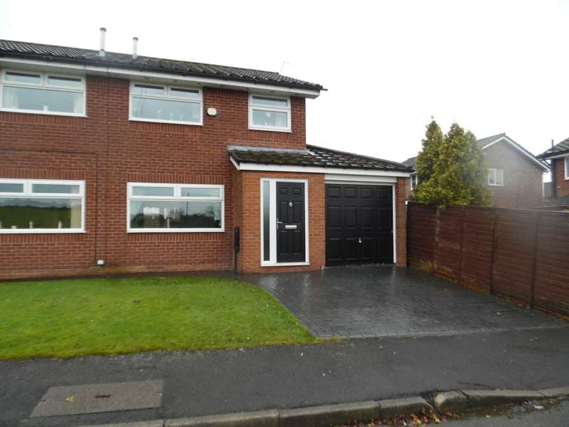 3 Bedrooms Semi Detached House for sale in Bullcote Green, Heyside.