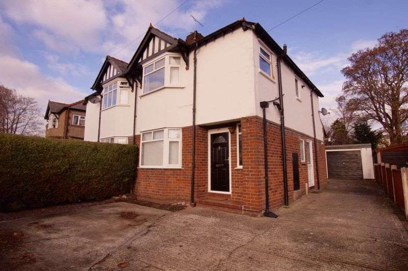 3 Bedrooms Semi Detached House for sale in Sandway Road, Garden Village, Wrexham