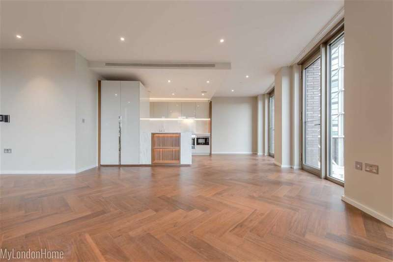 3 Bedrooms Property for sale in Capital Building, Vauxhall, London, SW11