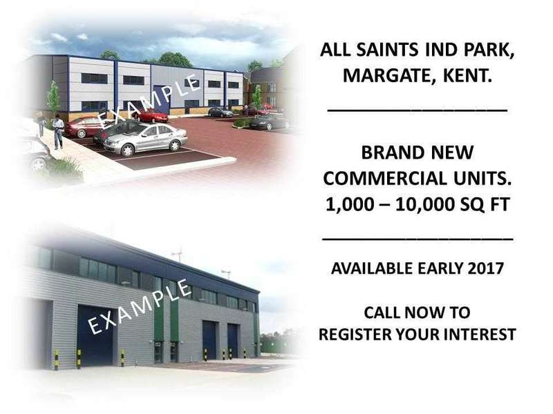Commercial Property for sale in All Saints Industrial Estate, All Saints Avenue, Margate