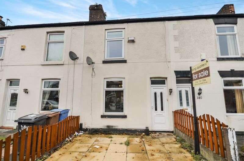 2 Bedrooms Terraced House for sale in 382 Worsley Road, Manchester, M30 8JA