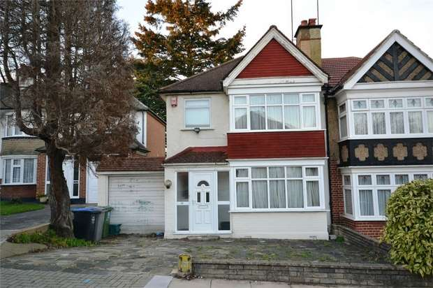 3 Bedrooms Semi Detached House for sale in Regal Way, Harrow, Middlesex