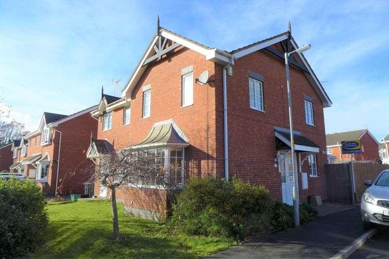 3 Bedrooms Semi Detached House for sale in Brandy Brook, Wrexham