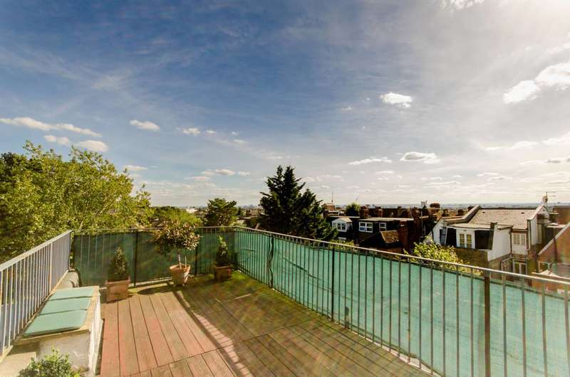 3 Bedrooms Flat for sale in Burrard Road, West Hampstead, NW6
