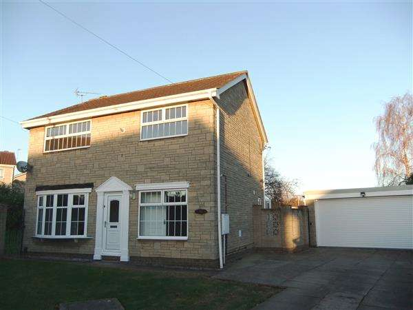 4 Bedrooms Detached House for sale in Tydeman Close, Scunthorpe