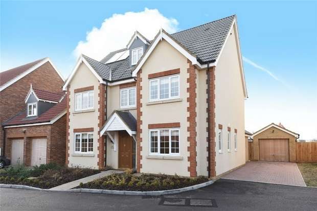 5 Bedrooms Detached House for sale in Falcon Field, Wixams, Bedford
