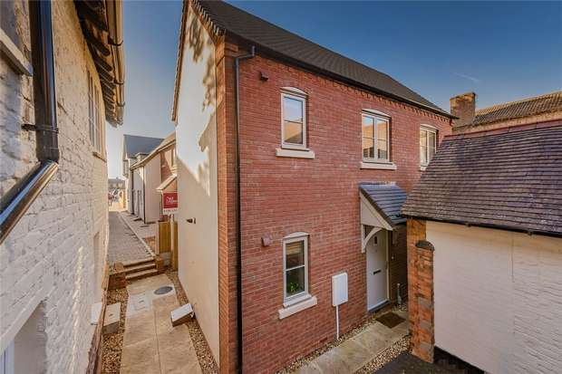 2 Bedrooms Detached House for sale in New Street, NEWPORT, Shropshire
