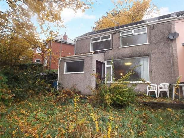 3 Bedrooms End Of Terrace House for sale in Hill Road, Neath Abbey, Neath, West Glamorgan