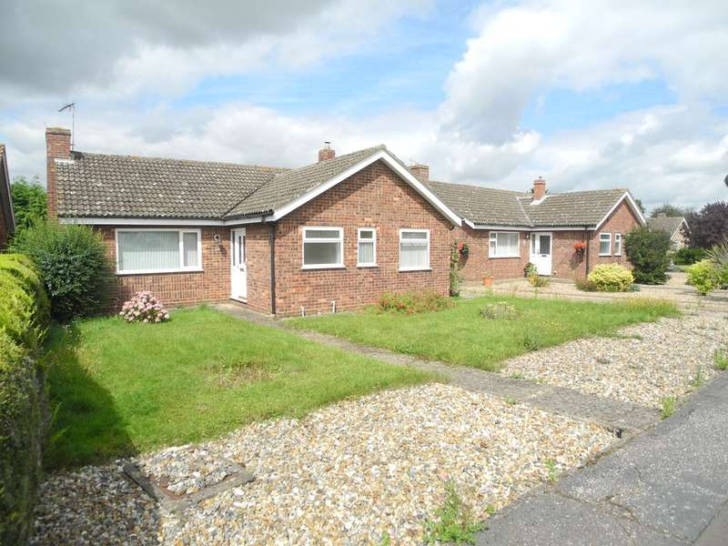 3 Bedrooms Detached Bungalow for sale in Hemmant Way, Gillingham, Beccles, Suffolk