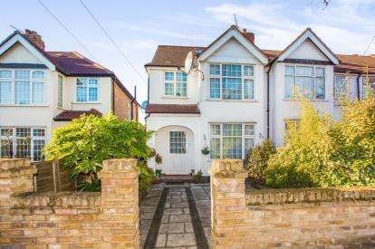 3 Bedrooms End Of Terrace House for sale in Barmouth Avenue, Perivale, Greenford, Middlesex